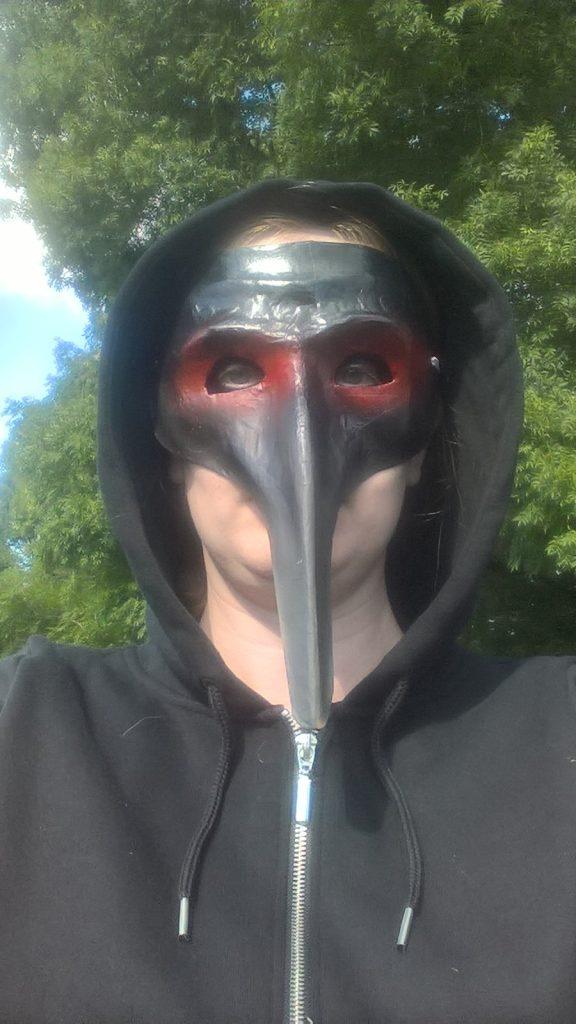 Masked Elizabeth Coyle